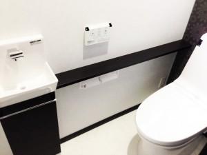 新居浜市でリフォームをしたトイレの写真
