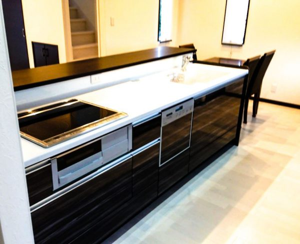 新居浜市で良い工務店が建てたキッチン写真