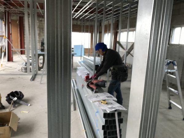 西条市で良い工務店が家を建てる現場写真
