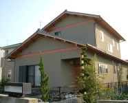 西条市でハウスメーカーの家写真