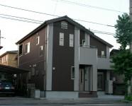 新居浜市で家事動線の家の外観写真