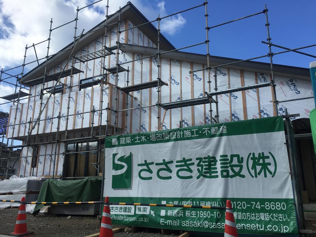 四国中央市で住宅坪単価の現場写真