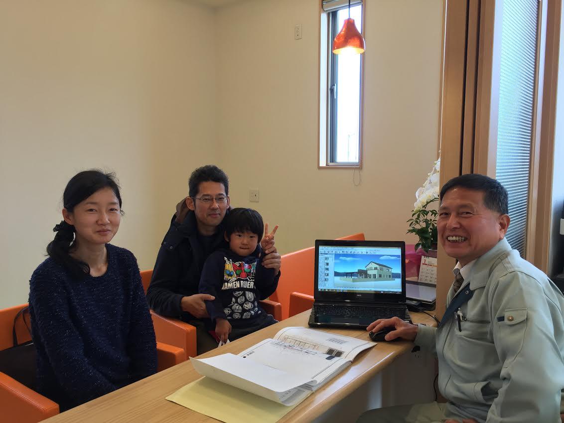 四国中央市で家を建てるお客様の写真