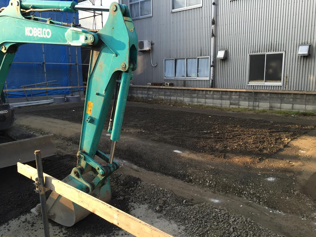 新居浜市で良い工務店が建てる現場写真