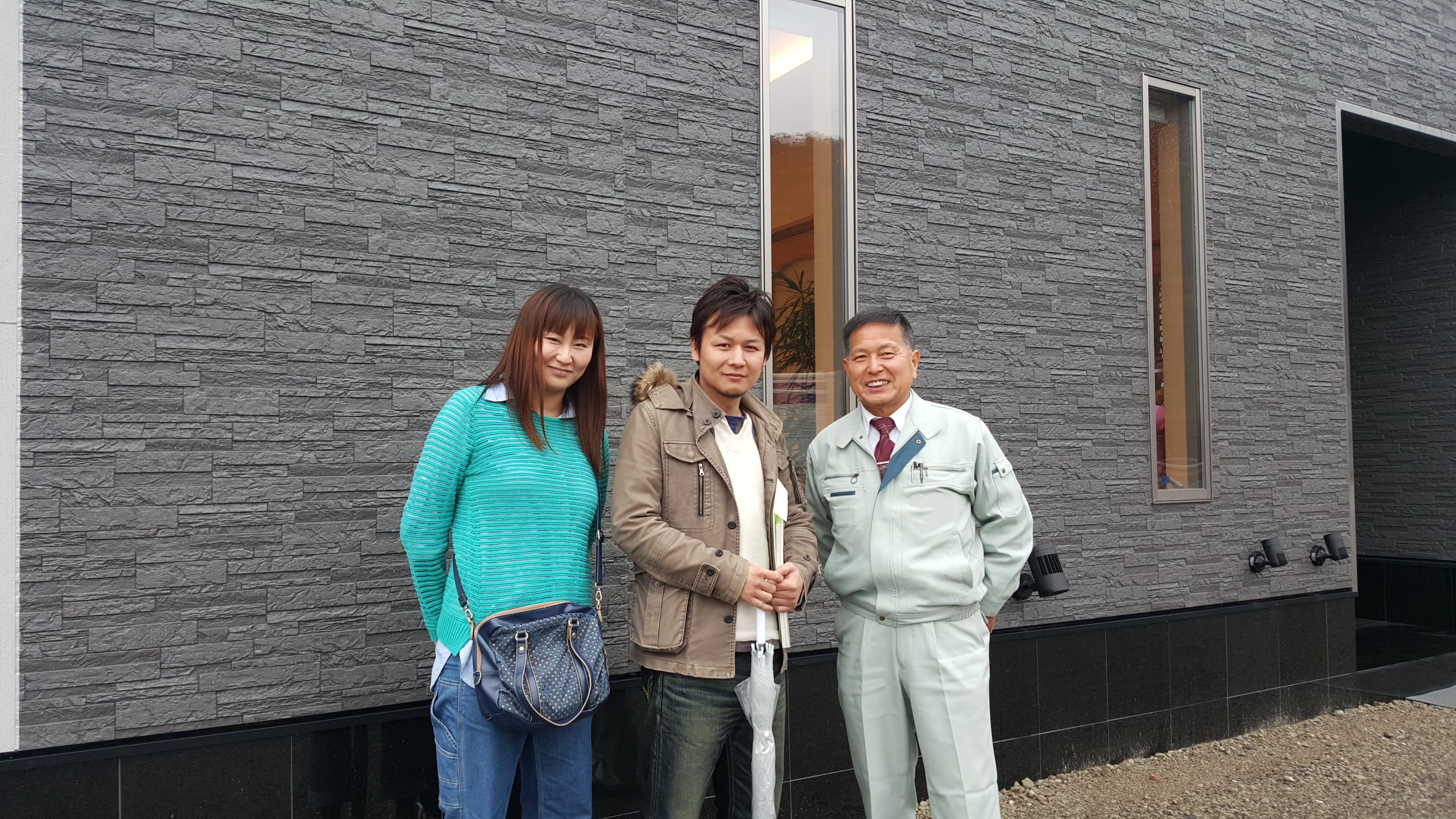 四国中央市でオール電化の住宅を建てるお客様の写真