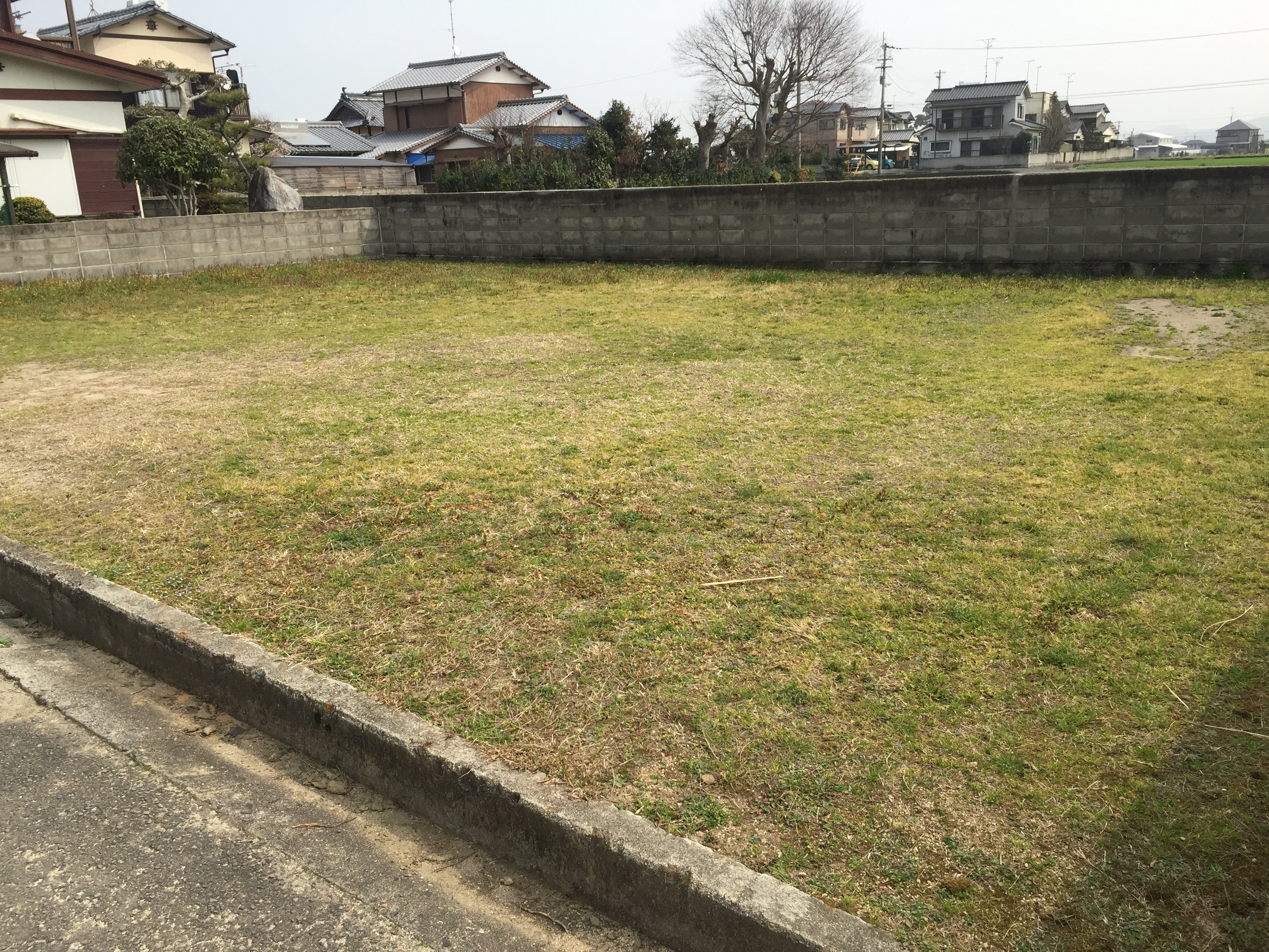 西条市で新築住宅の土地写真