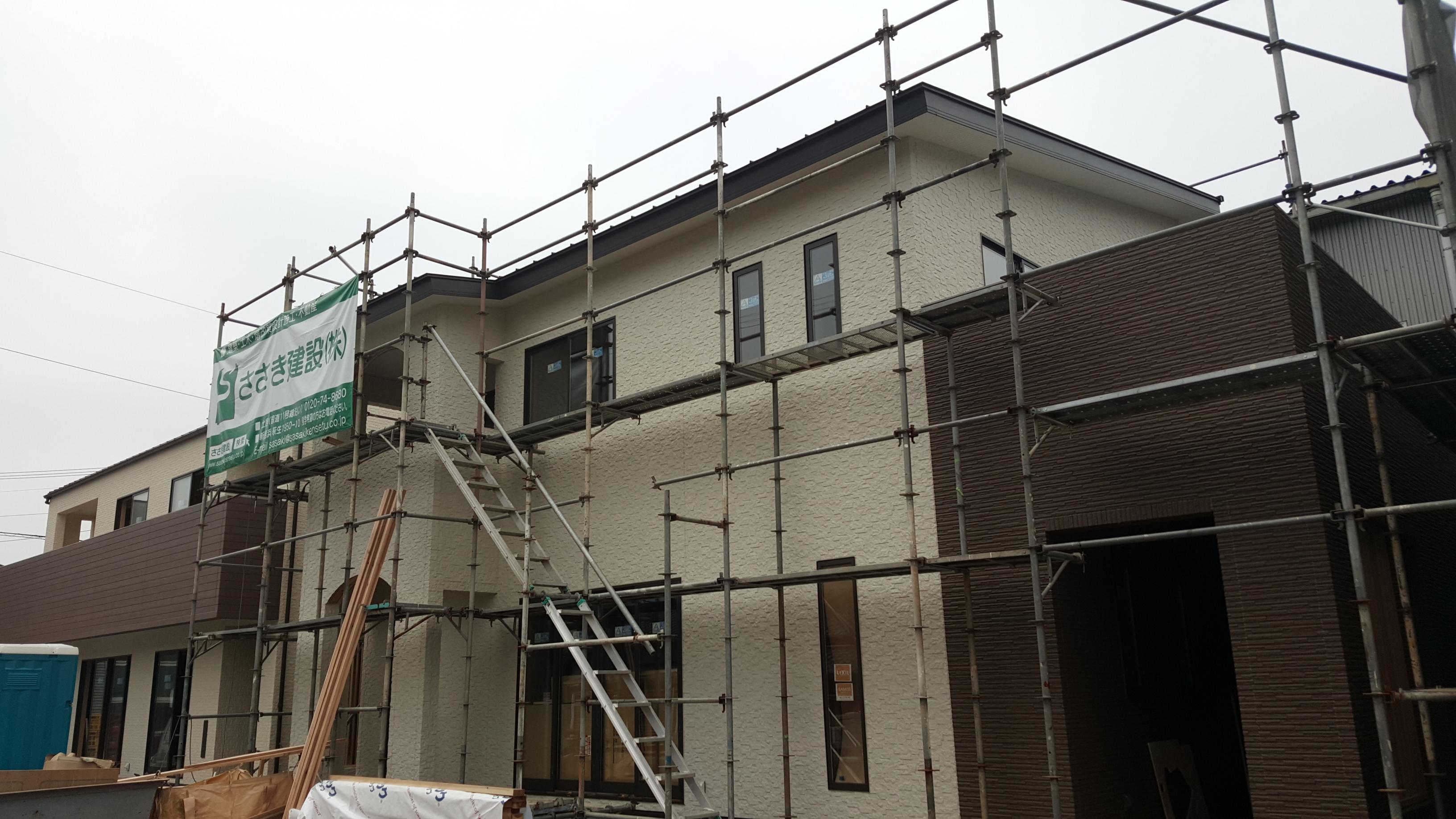 西条市で注文住宅の外観写真