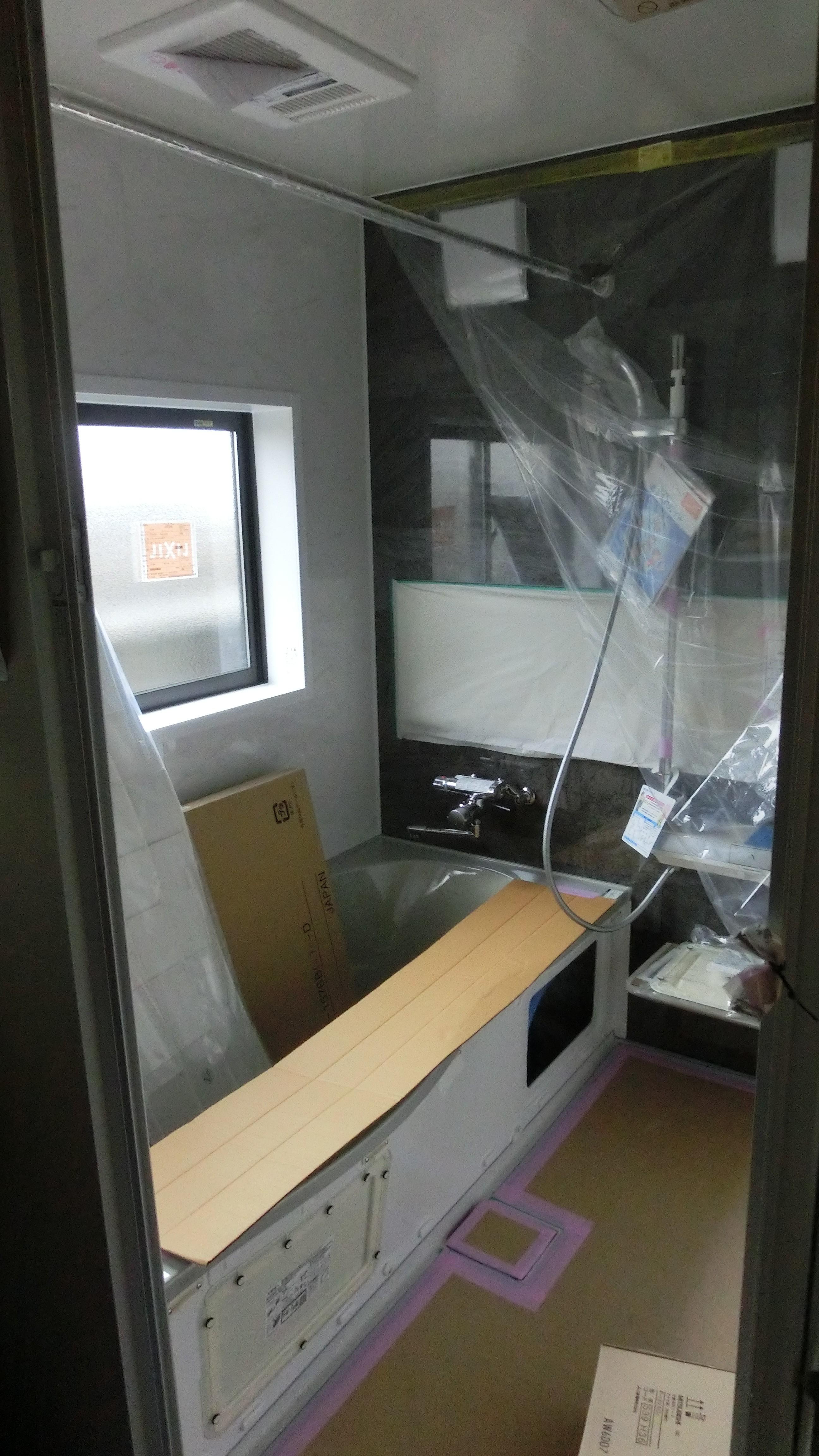 新居浜市で二世帯住宅の浴室写真