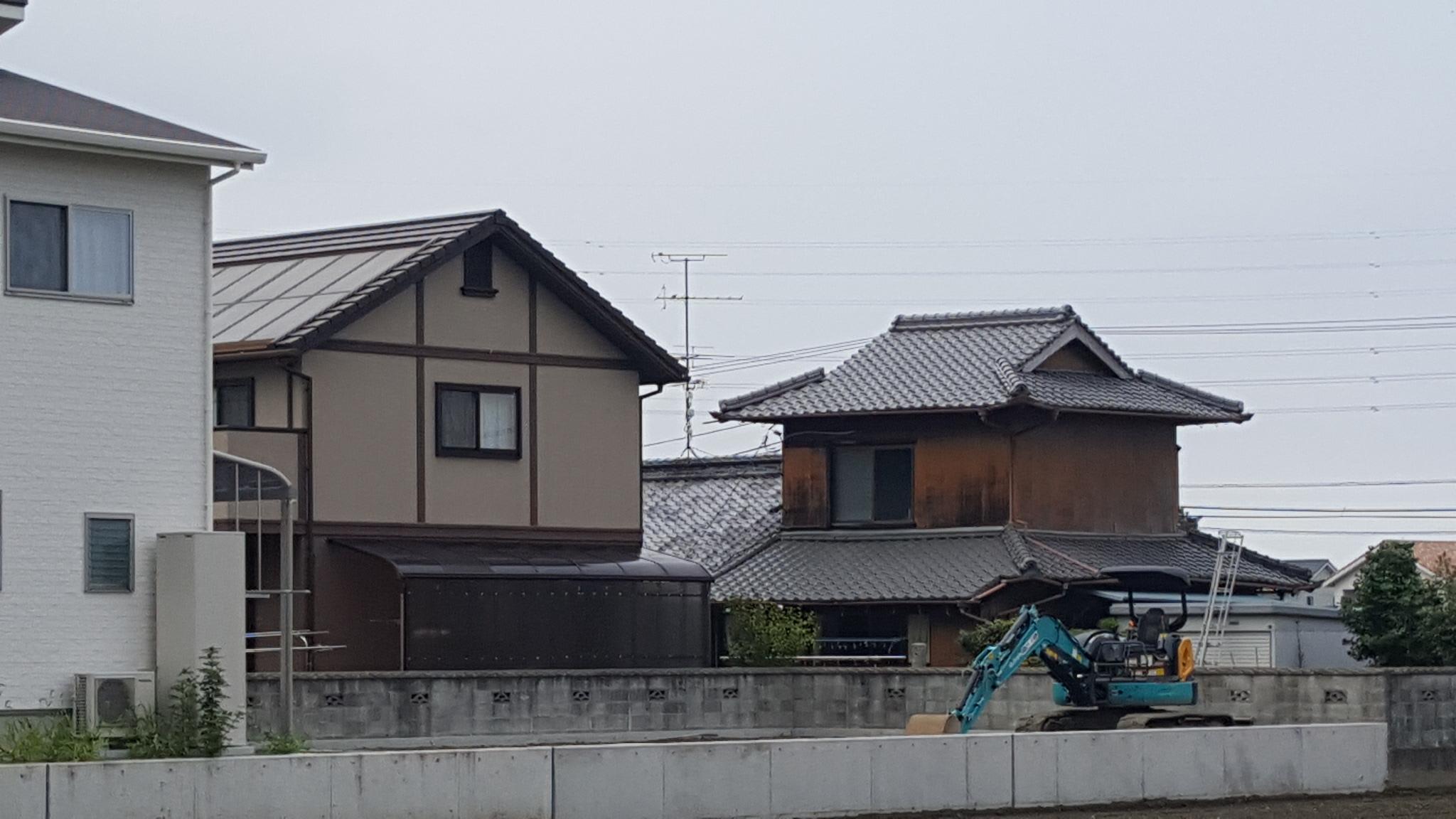 新居浜市で吹き抜けの家ぇお建てる基礎写真