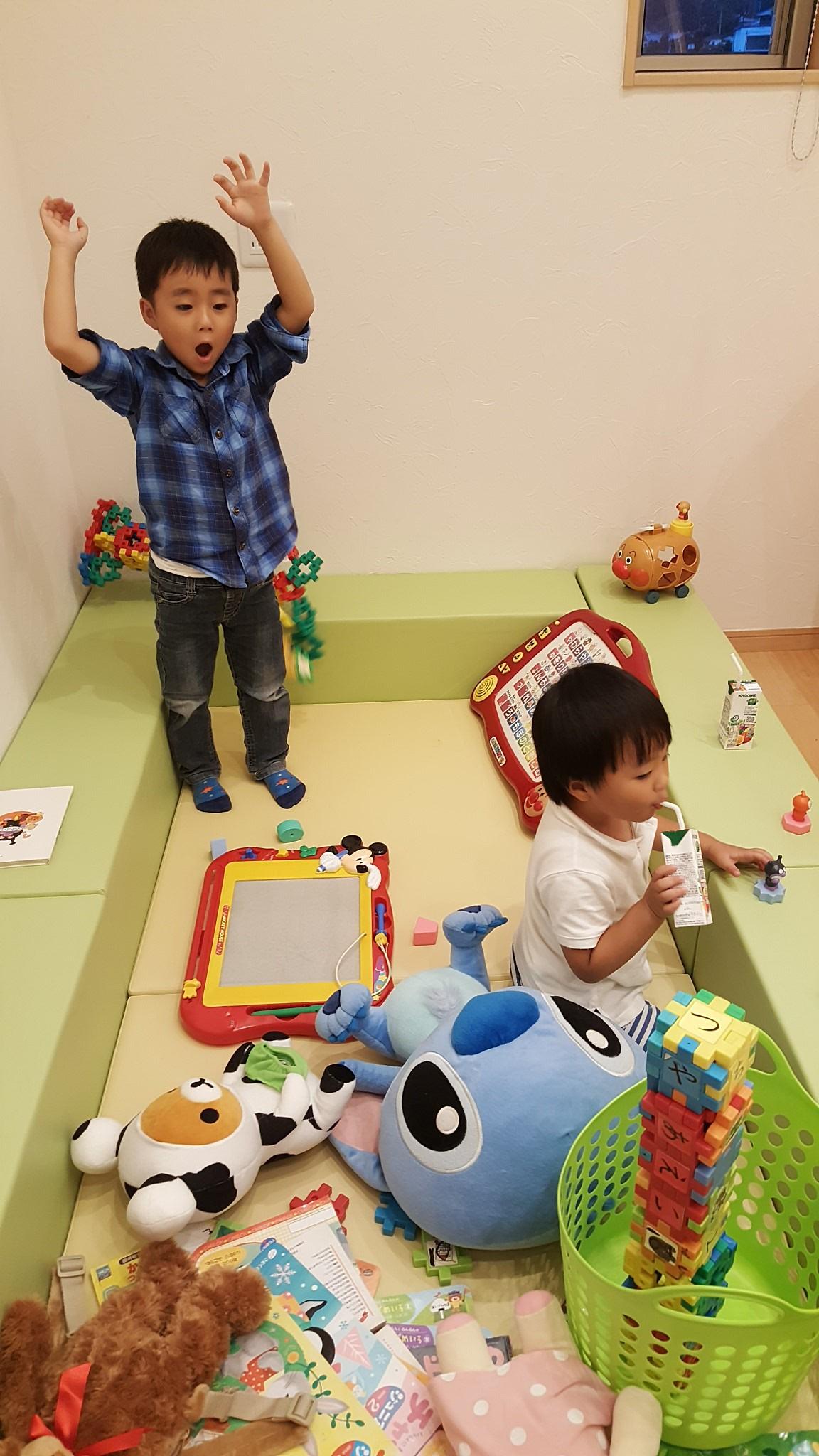 四国中央市でハウスメーカーのキッズルーム写真