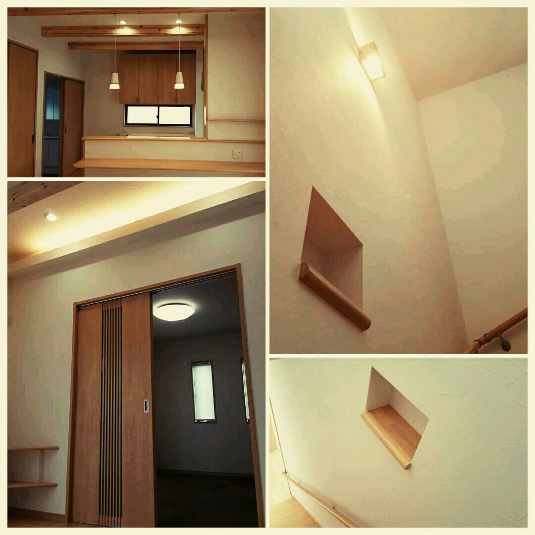 四国中央市でオシャレな住宅の内装写真
