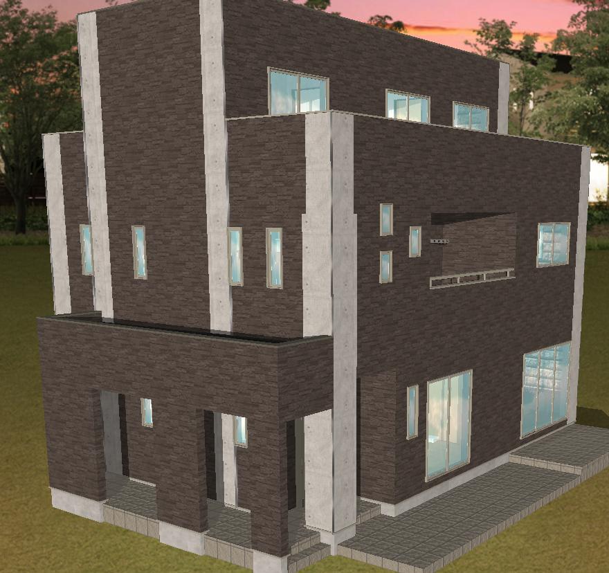西条市で住宅新築の家全体の画像