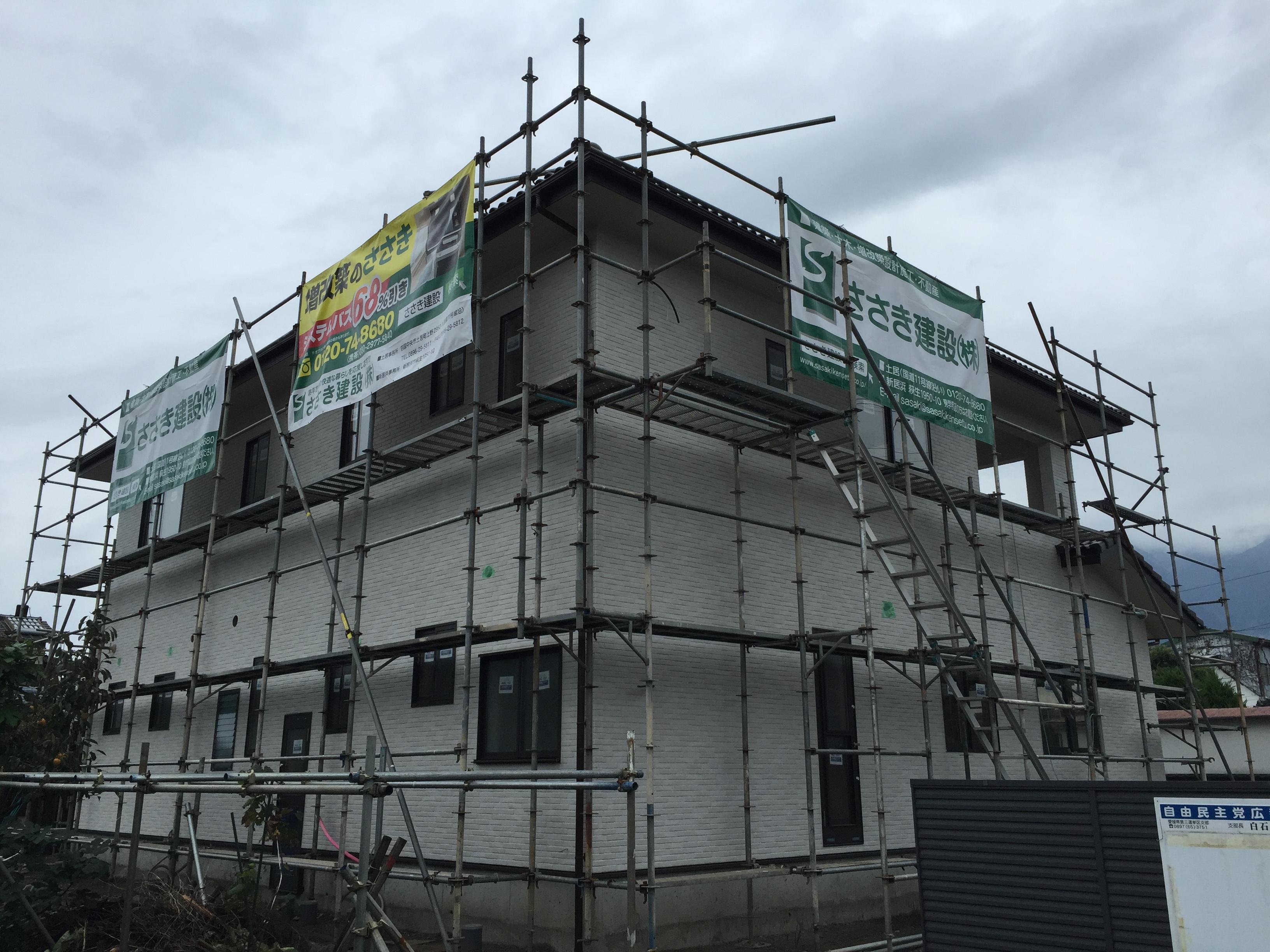 四国中央市で建設会社が建てた家写真