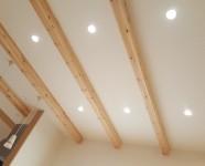 新居浜市で新築デザインの天井写真