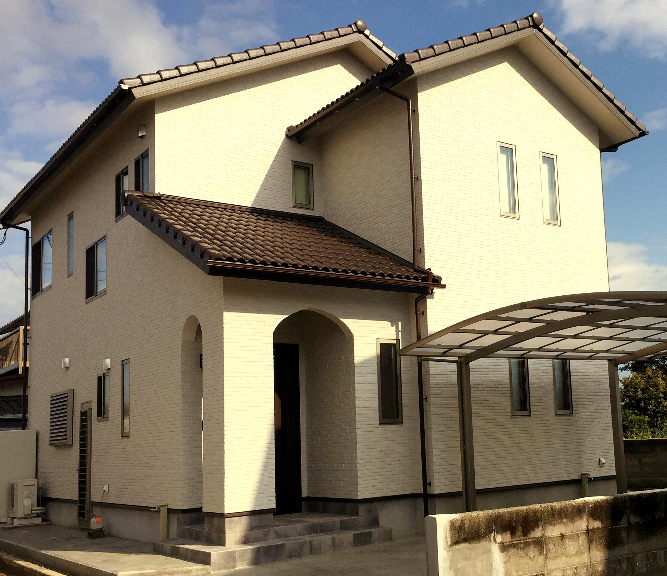 新居浜市でマイホーム購入した家の写真