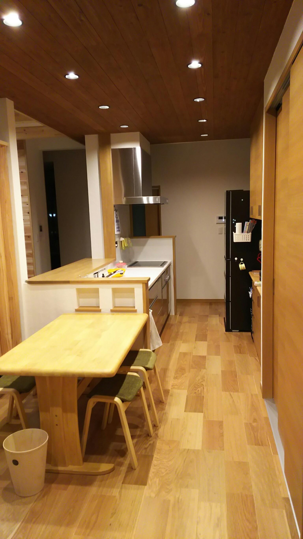 四国中央市で健康住宅のキッチン写真