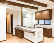 新居浜市で可愛い家のキッチン写真