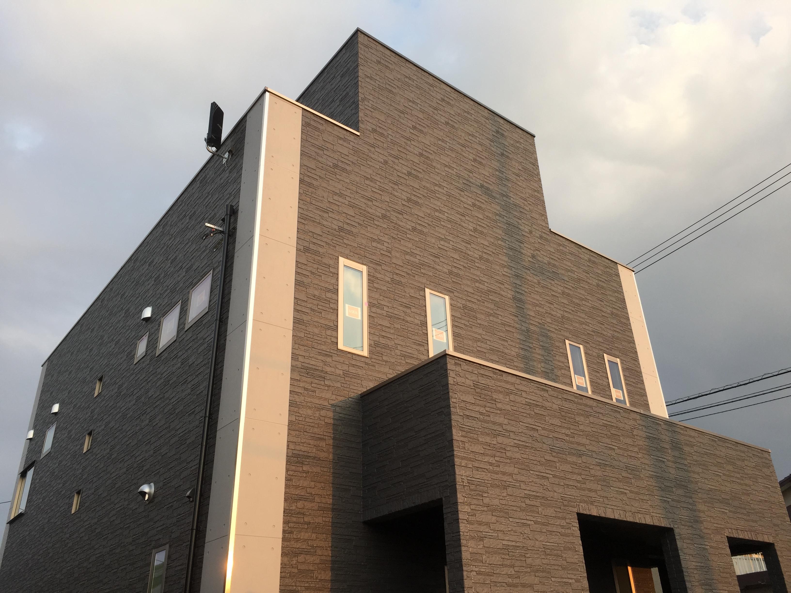 四国中央市で高級住宅の外観写真