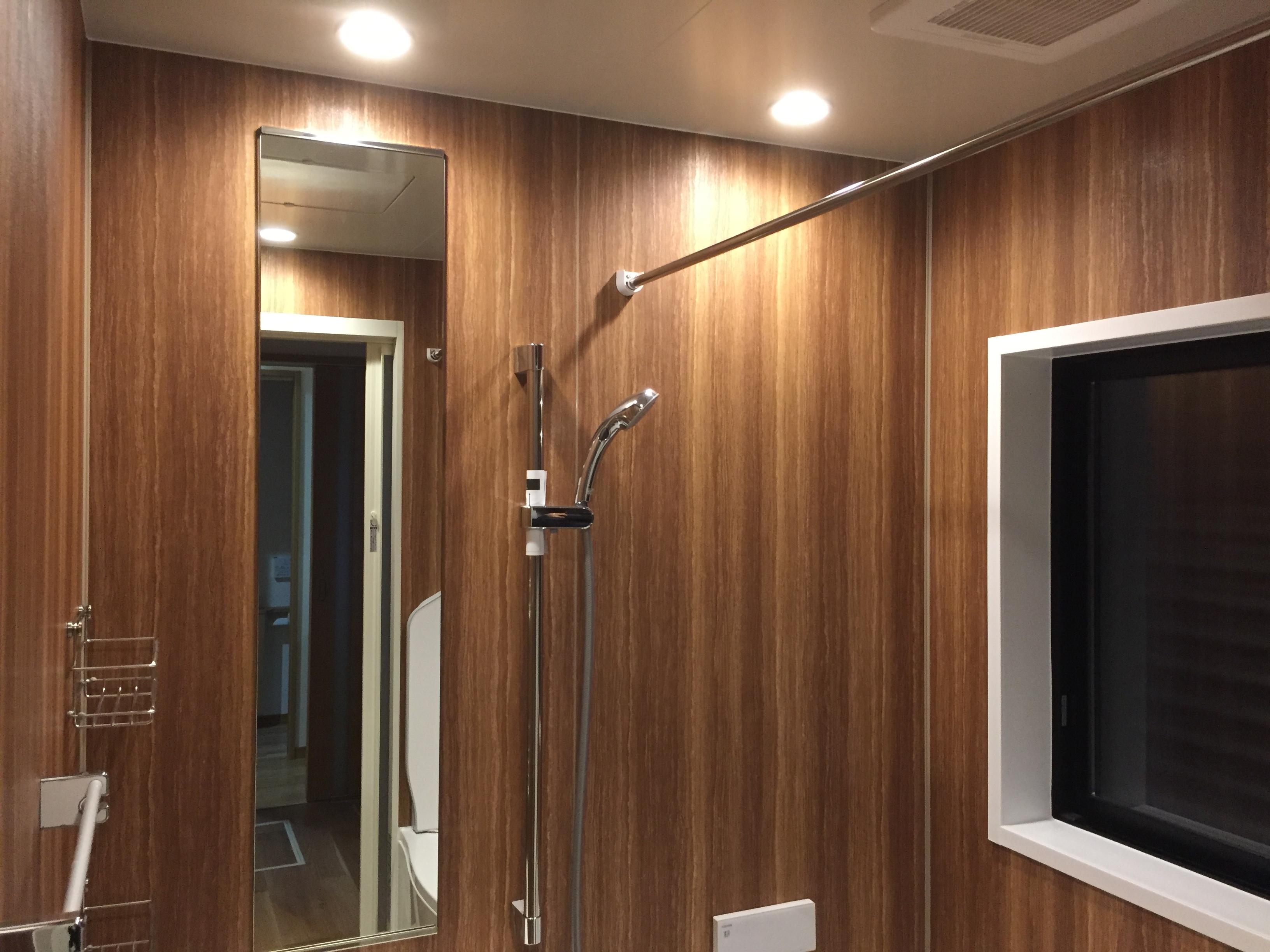 四国中央市で高級住宅の浴室写真