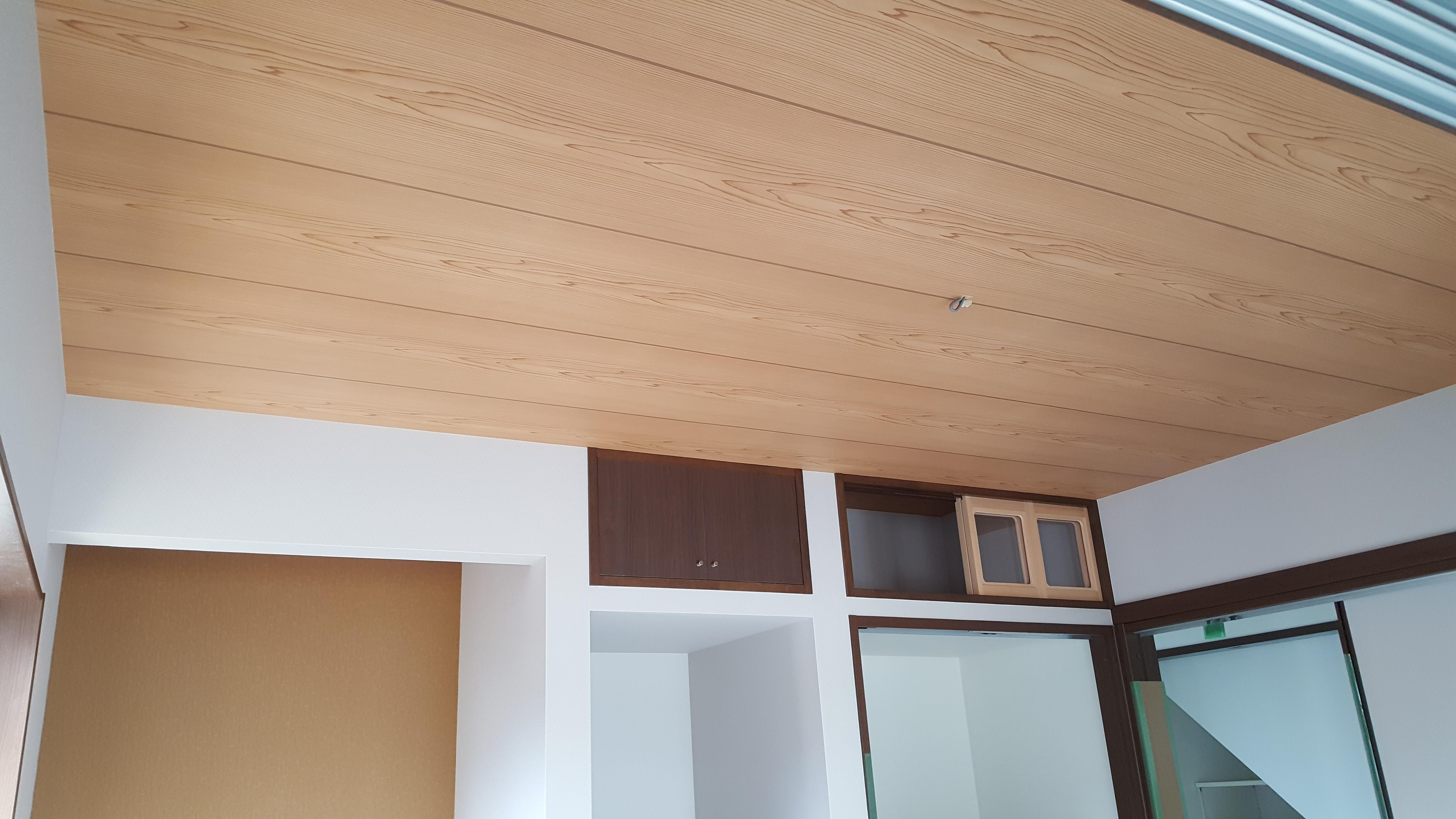 四国中央市で一戸建ての天井写真