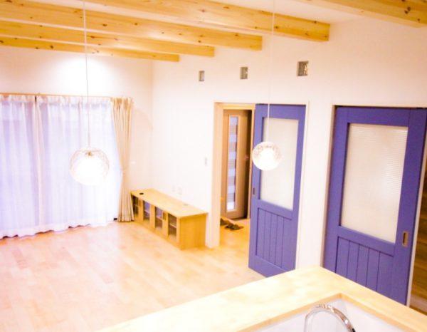 新居浜市でデザイン住宅の内装写真