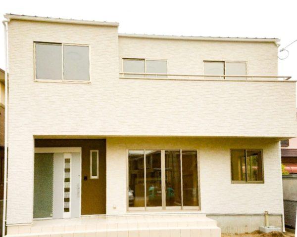 新居浜市でデザイン住宅の外観写真