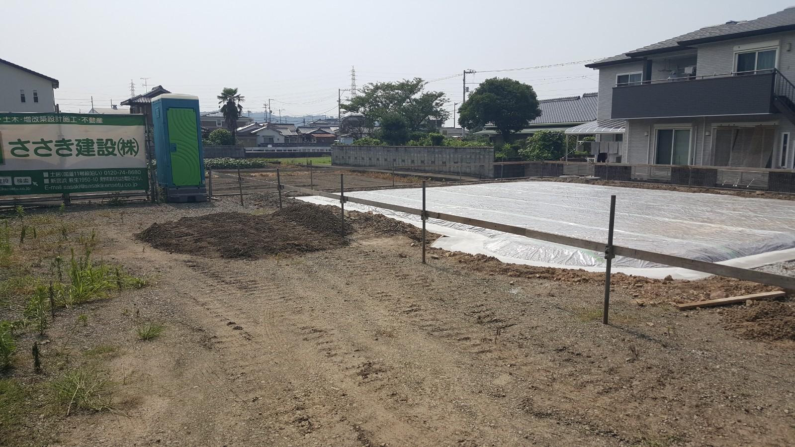 四国中央市で一戸建ての土地写真