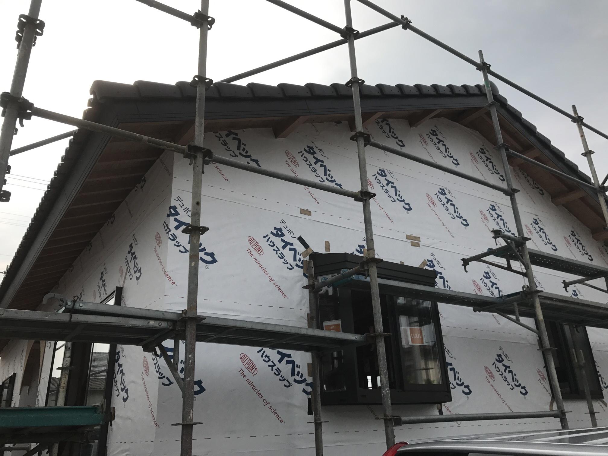 西条市で可愛い家の現場写真