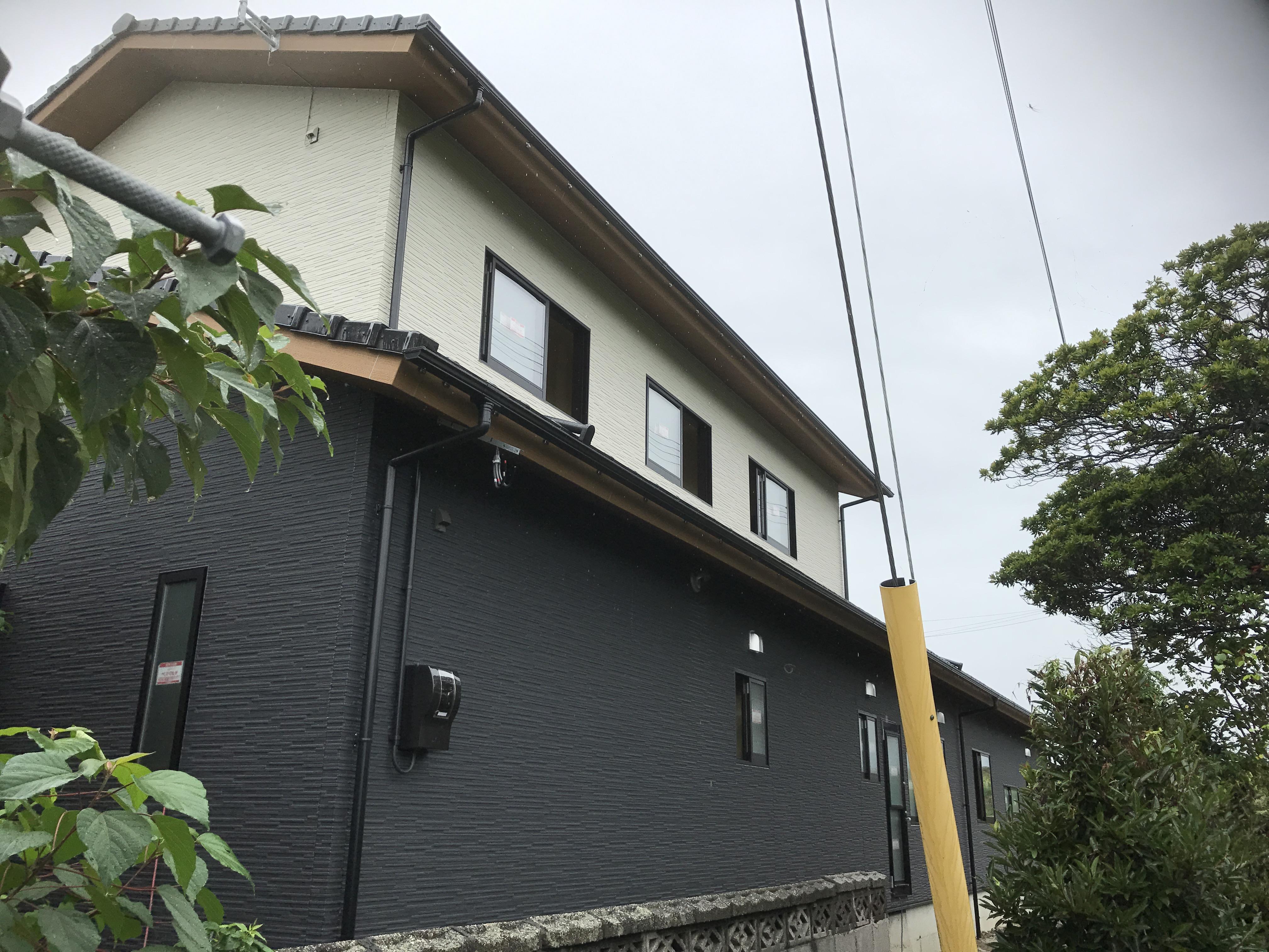 西条市で住宅の外観写真