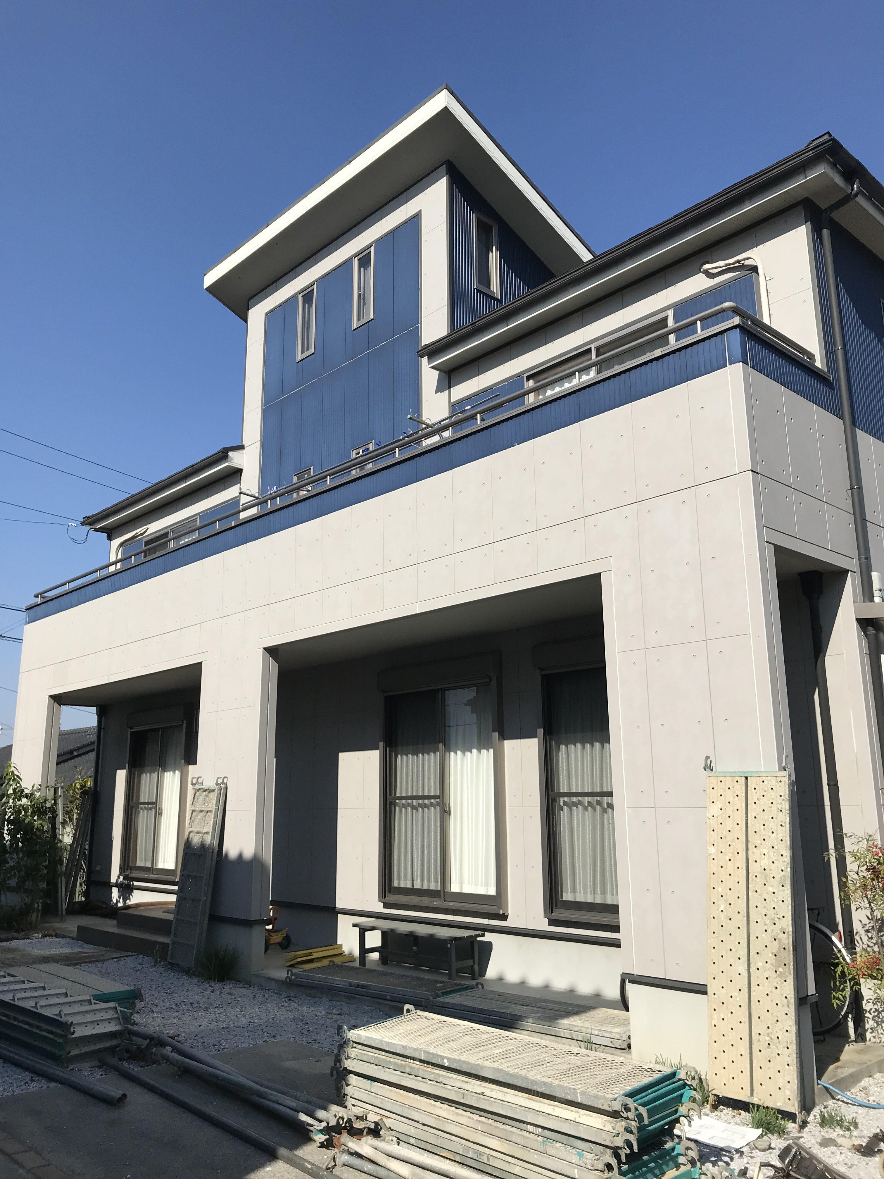 四国中央市で家の塗装をした写真