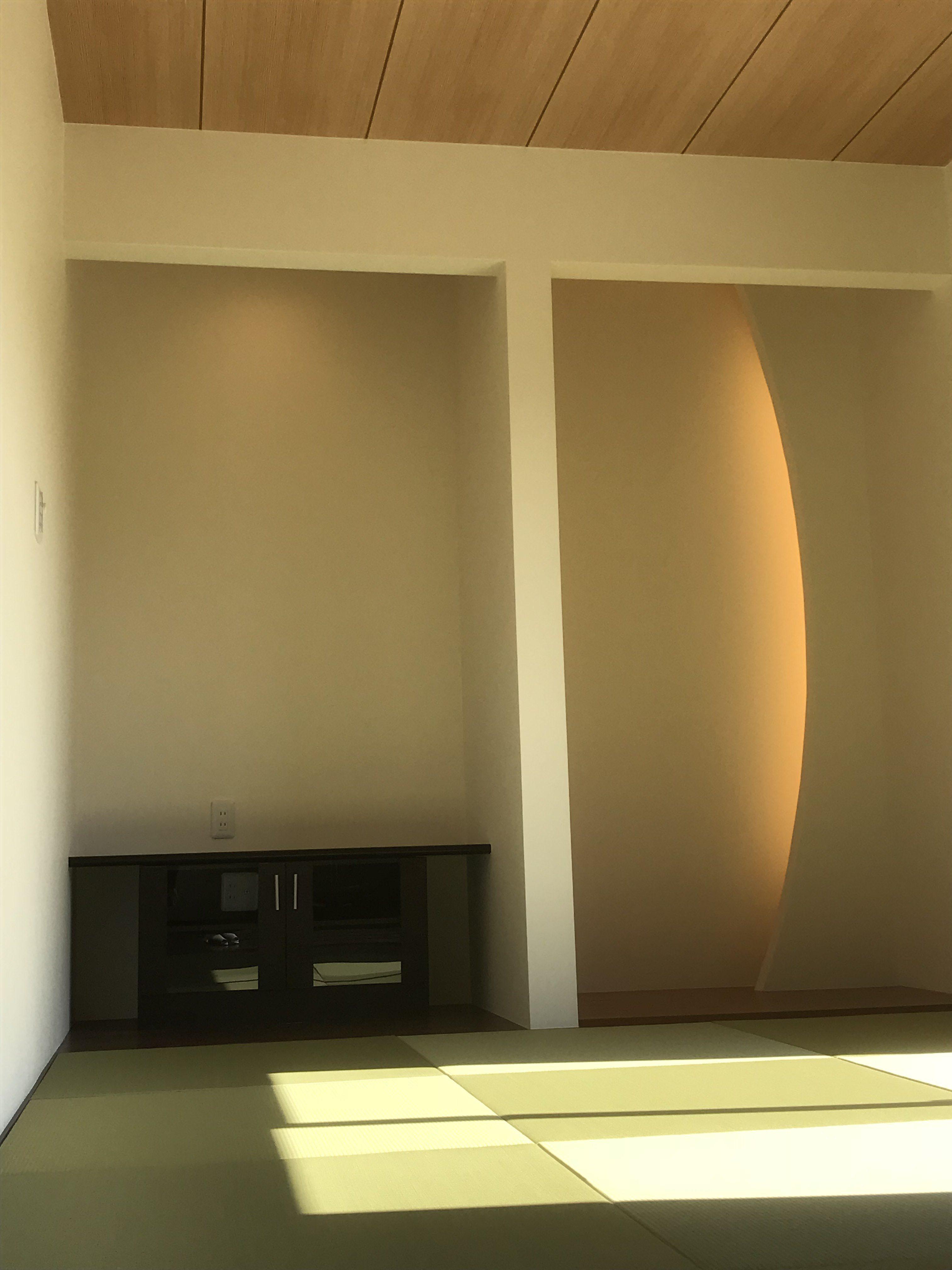 四国中央市で二階建ての家の和室写真