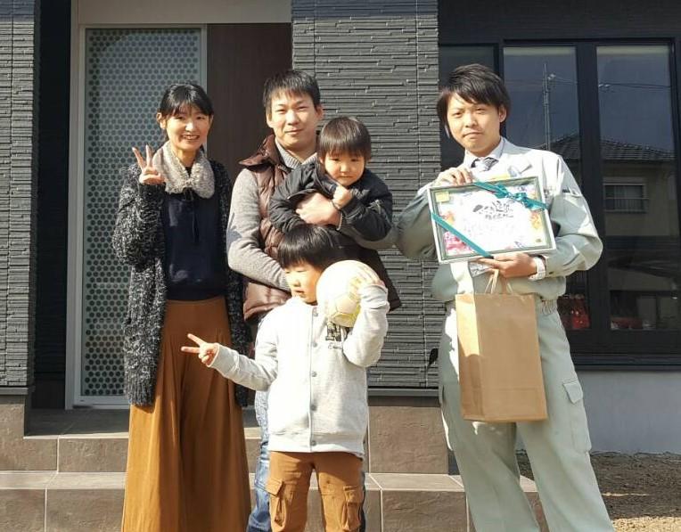 四国中央市で家を買ったお客様の画像