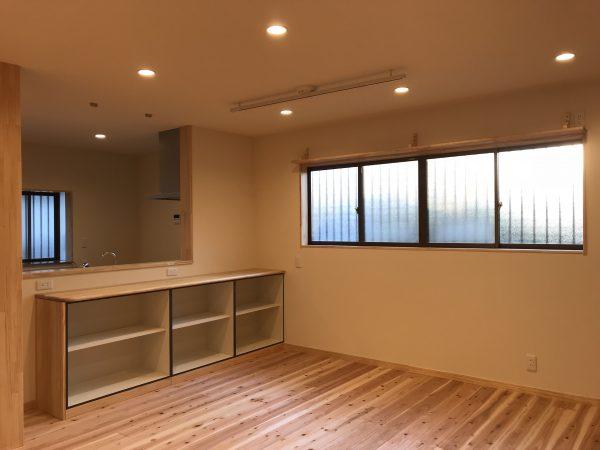 新居浜市でロフトの家の内装写真