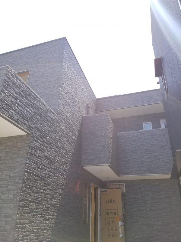 西条市でかっこいい家の外観写真