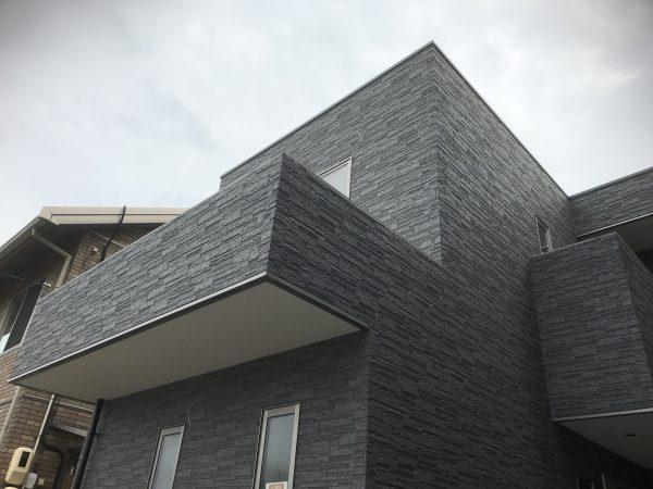 西条市でオシャレな住宅の外観写真