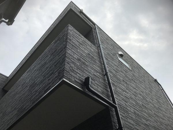 西条市でオシャレな住宅のベランダ写真