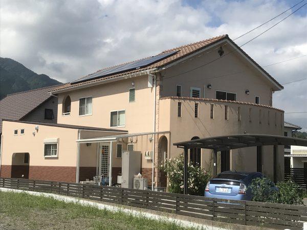 西条市でパッシブデザインの家写真