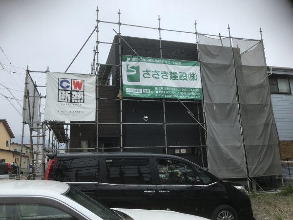 四国中央市で吹き抜けの家の外観写真