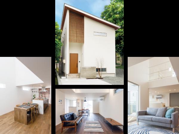新居浜市で新築のセミオーダー住宅の写真