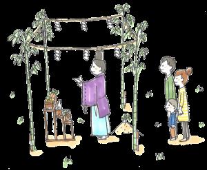新居浜市で家づくりの地鎮祭の画像