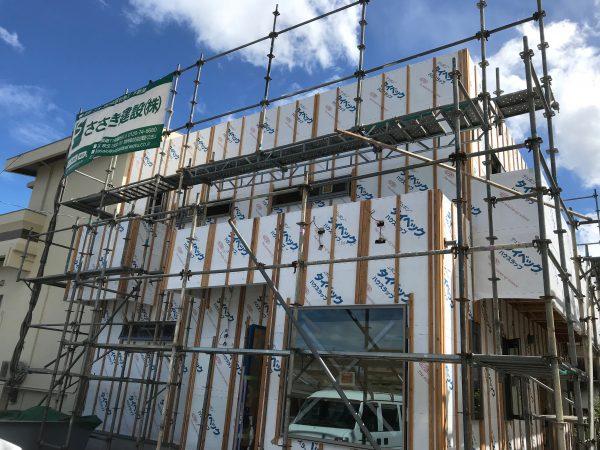 新居浜市で良い工務店が建てた現場の写真