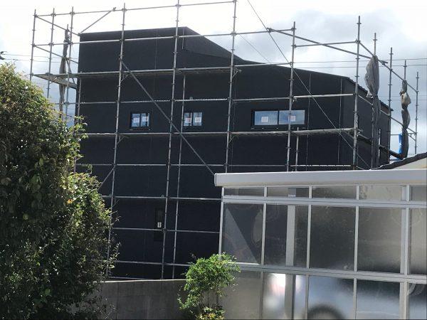 新居浜市で良い工務店が建てている現場写真