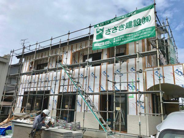 四国中央市で外壁リフォームの外観写真