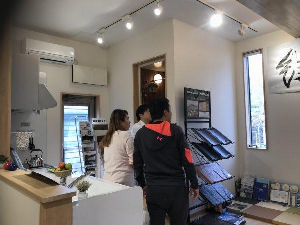 新居浜市で低価格の家を建てるお客様の写真