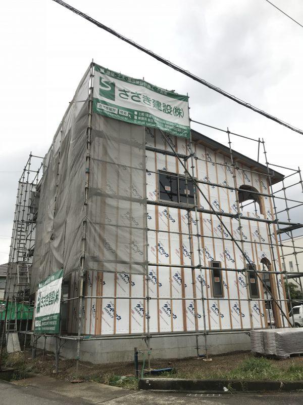新居浜市で工務店の現場写真