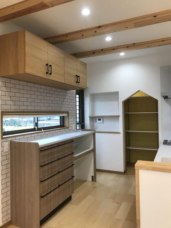 新居浜市で工務店のキッチン写真
