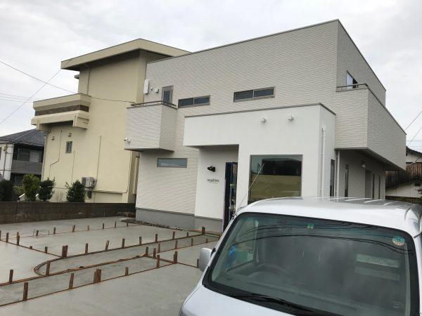 新居浜市で新築住宅の外観写真