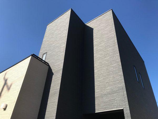 四国中央市で家を建てている外観写真