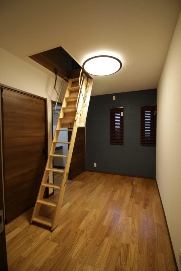 新居浜市で家づくりの寝室写真