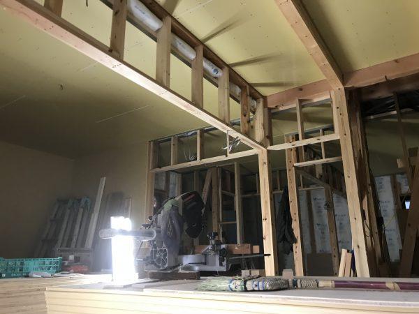 西条市で耐震住宅の内装写真